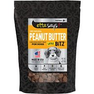 Etta Says! Peanut Butter Little Bitz Dog Treats, 5.5-oz bag