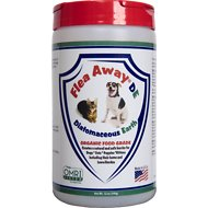 Flea Away Diatomaceous Earth for Dogs & Cat, 12-oz jar