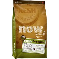 Now Fresh Grain-Free Small Breed Senior Weight Management Recipe Dry Dog Food, 12-lb bag