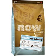 Now Fresh Grain-Free Adult Fish Recipe Dry Cat Food, 4-lb bag