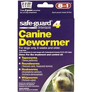 8in1 Safe-Guard 4 Canine De-Wormer for Medium Dogs, 3 day treatment