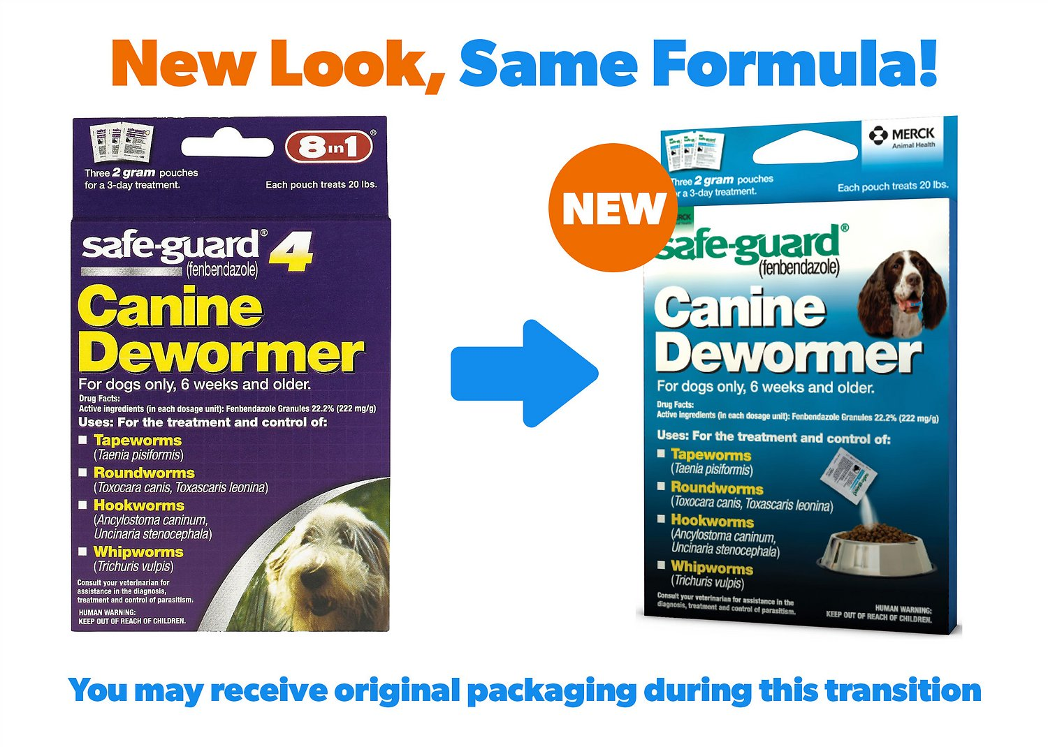 When To Deworm Puppies >> 8in1 Safe Guard 4 Canine De Wormer For Medium Dogs 3 Day Treatment