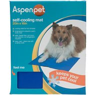 Aspen Pet Strong Cooling Mat for Dogs & Cats, Blue, 20 x 16-inch