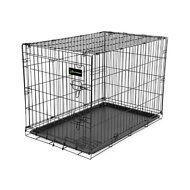 Petmate Ruff Maxx Wire Kennel for Dogs, Black, 30-inch