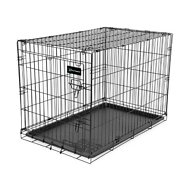 Petmate Ruff Maxx Wire Kennel for Dogs, Black, 36-inch