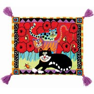 Fat Cat Boogie Mat for de Cat, Color Varies
