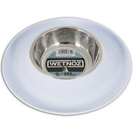Wetnoz Flexi Dog Bowl, Snow, Small