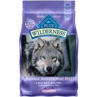 Blue Buffalo Wilderness Toy Breed Adult Chicken Recipe Grain-Free Dry Dog Food, 4-lb bag