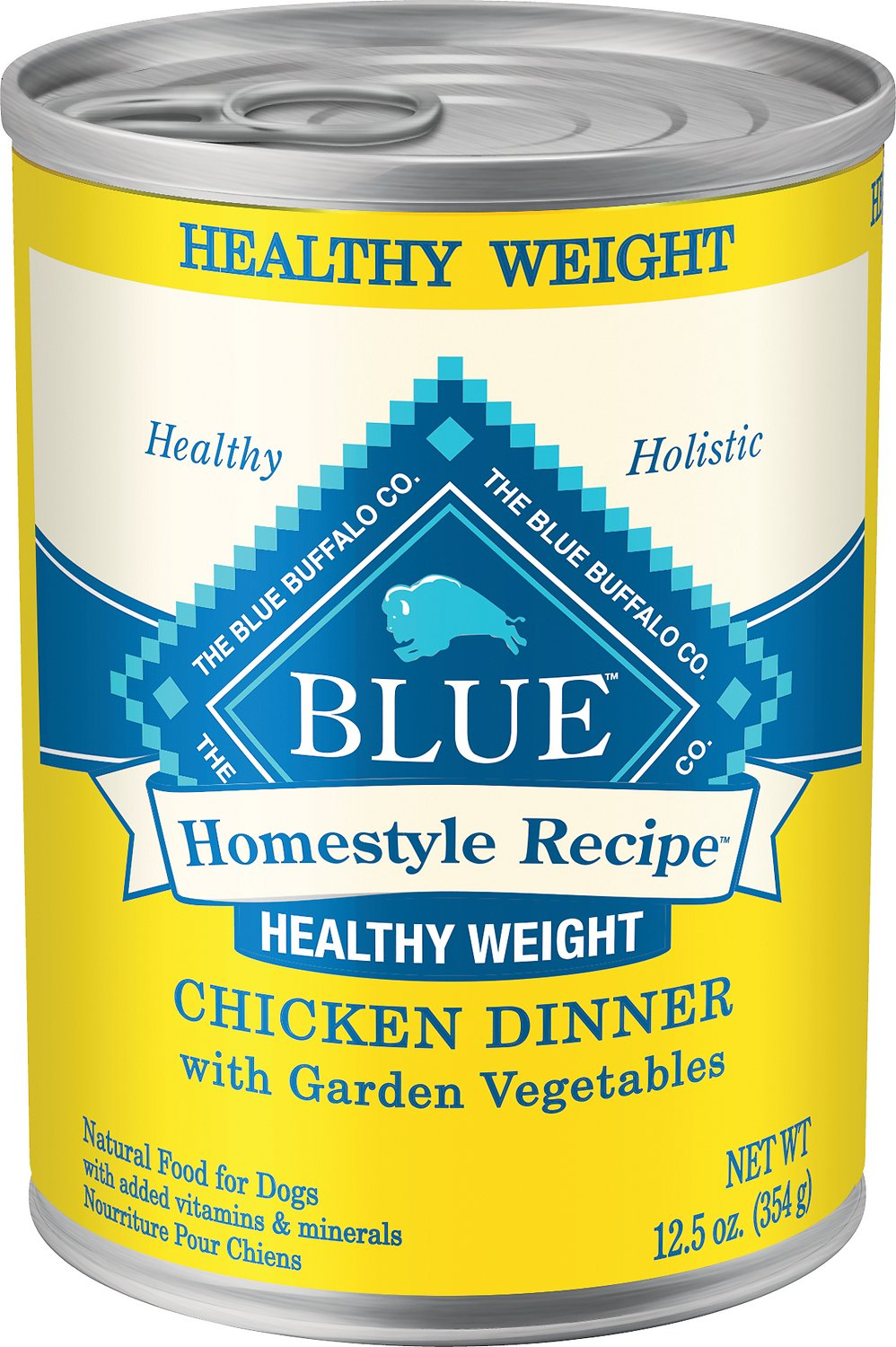 blue buffalo homestyle recipe healthy weight chicken dinner with