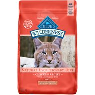 Blue Buffalo Wilderness Indoor Hairball & Weight Control Chicken Recipe Grain-Free Dry Cat Food, 11-lb bag