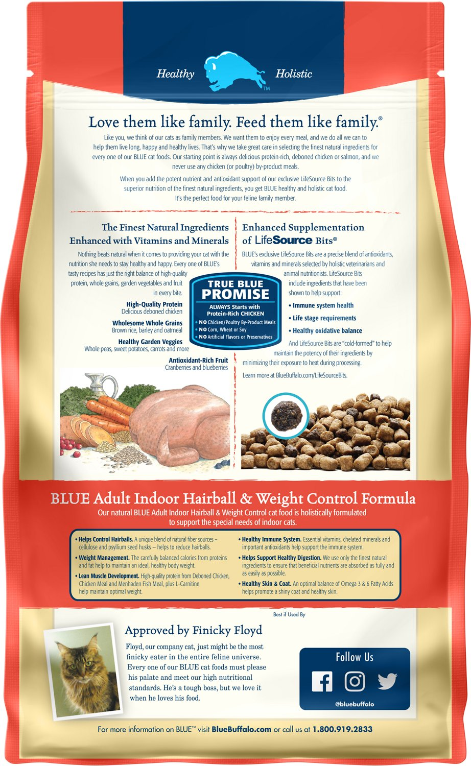 Blue Buffalo Wilderness Cat Food Weight Control - The Best ...