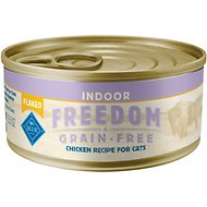 Blue Buffalo Freedom Indoor Flaked Chicken Recipe Grain-Free Canned Cat Food, 5.5-oz, case of 24