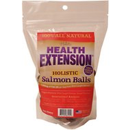 Health Extension Salmon Balls Grain-Free Dog Treats, 10-oz bag