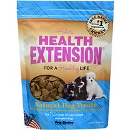 Health Extension Small Heart-Shaped Dog Treats, 1-lb bag