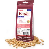 Bravo! Healthy Bites Salmon Freeze-Dried Cat Treats, 1-oz bag