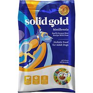 Solid Gold MMillennia Beef & Brown Rice Recipe with Peas Adult Dry Dog Food, 15-lb bag