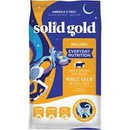 Solid Gold MMillennia Beef & Brown Rice Recipe with Peas Adult Dry Dog Food, 28.5-lb bag