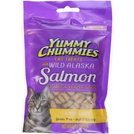 Yummy Chummies Salmon Recipe Grain-Free Cat Treats, 3-oz bag
