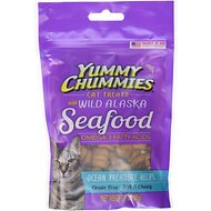 Yummy Chummies Ocean Treasure Recipe Grain-Free Cat Treats, 3-oz bag