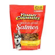 Yummy Chummies Original Salmon Recipe Dog Treats, 2.5-lb bag