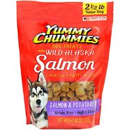 Yummy Chummies Salmon & Potato Recipe Grain-Free Dog Treats, 2.5-lb bag