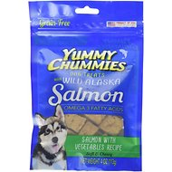 Yummy Chummies Salmon with Vegetables Recipe Grain-Free Dog Treats, 4-oz bag