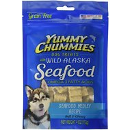 Yummy Chummies Seafood Medley Recipe Grain-Free Dog Treats, 4-oz bag