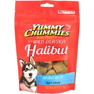 Yummy Chummies Halibut Recipe Dog Treats, 4-oz bag
