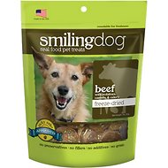Herbsmith Smiling Dog Beef with Potatoes, Carrots & Celery Freeze-Dried Dog Treats, 2.5-oz bag