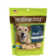 Herbsmith Smiling Dog Duck with Oranges Freeze-Dried Dog Treats, 2.5-oz bag