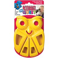 KONG Quest Critters Owl Dog Toy, Small