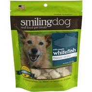Herbsmith Smiling Dog Wild Caught Whitefish Freeze-Dried Dog Treats, 1.76-oz bag