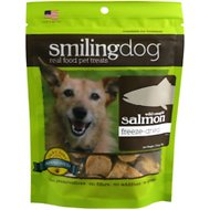 Herbsmith Smiling Dog Wild Caught Salmon Freeze-Dried Dog Treats, 1.76-oz bag