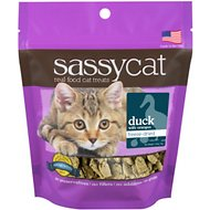 Herbsmith Sassy Cat Duck with Oranges Freeze-Dried Cat Treats, 1.25-oz bag