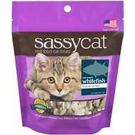 Herbsmith Sassy Cat Wild Caught Whitefish Freeze-Dried Cat Treats, 0.88-oz bag
