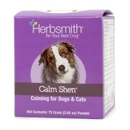 Herbsmith Herbal Blends Calm Shen Powdered Dog & Cat Supplement, 75g jar