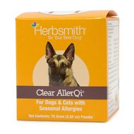 Herbsmith Herbal Blends Clear AllerQi Powdered Dog & Cat Supplement, 75g jar