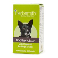 Herbsmith Herbal Blends Soothe Joints Tablets Dog & Cat Supplement, 90 count