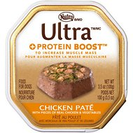 Nutro Ultra Protein Boost Chicken Pate Dog Food Trays, 3.5-oz, case of 24