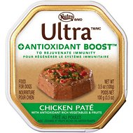 Nutro Ultra Antioxidant Boost Chicken Pate Dog Food Trays, 3.5-oz, case of 24