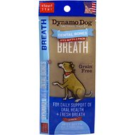 Cloud Star Dynamo Dog Breath Dental Bones Adult Dog Treats, Itty Bitty, 2 count