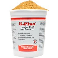 K-Plus Potassium Citrate Plus Cranberry Granules for Dogs & Cats, 300g