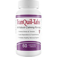 TranQuil Tabs Calming Dog Supplement, 60 count