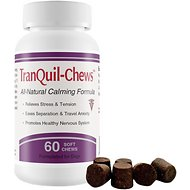 TranQuil Chews Calming Dog Supplement, 60 count