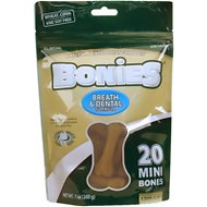 BONIES Breath & Dental Formula Mini Dog Treats, 20 count