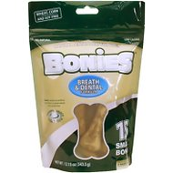 Pet Health Solutions Bonies Natural Dental Bones for Dogs, Small