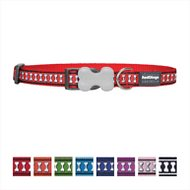 Red Dingo Reflective Dog Collar, Red, 20mm