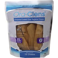 Ora-Clens Oral Hygiene Chews for Dogs, X-Large