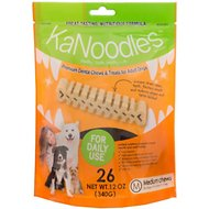 KaNoodles Medium Premium Dental Chews Adult Dog Treats, 12-oz bag