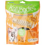 KaNoodles X-Large Premium Dental Chews Adult Dog Treats, 12-oz bag
